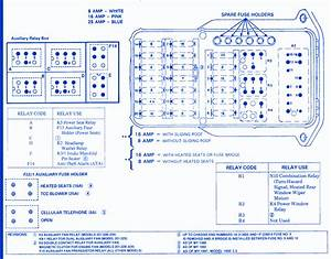 Mercedes W201 2 3 1993 Fuse Box  Block Circuit Breaker Diagram
