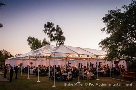Rancho Valencia Wedding Lighting San Diego Lighting Dan