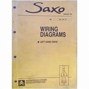 U00a324 99 Citroen Saxo Lhd Wiring Diagrams Workshop Manual 1996 Bre0160gb