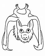 Bat Coloring Pages Print Clipart Coloring2print sketch template