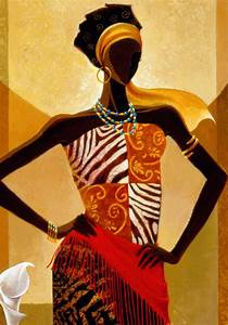 Black African American Women Art