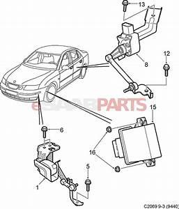 Saab 9 3 Car Headlights Diagram