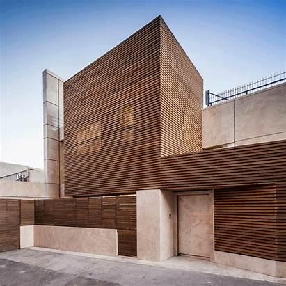 Iranian Houses Architecture Iran Timber Isfahan Facade
