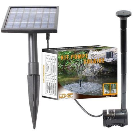 linxor pompe a eau solaire pour fontaine bassin jardin