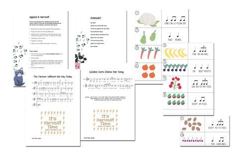 Apples & Harvest Lesson & Activity Plan
