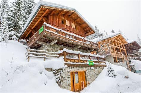 chalet marine la plagne ski chalet for catered chalet