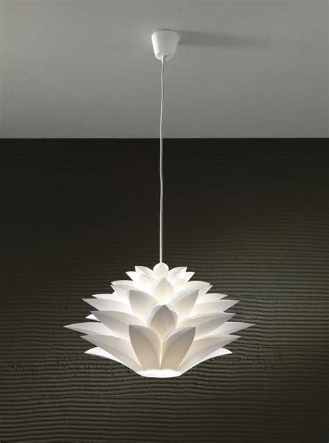 lampadario  sospensione  forma  fiore yumiko