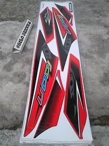 Jual Beli Striping Stiker Lis Motor Variasi Honda Beat Karbu Icon Mata