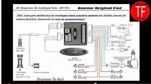 Wiring Diagram Alarme Fiat   Af1101