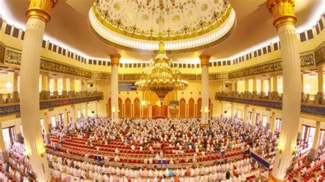 masjid agung madani rohul terbaik nasional dilengkapi