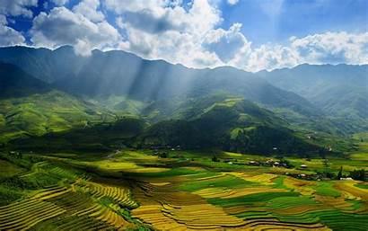Vietnam Wallpapers Desktop Nature Places North Pretty