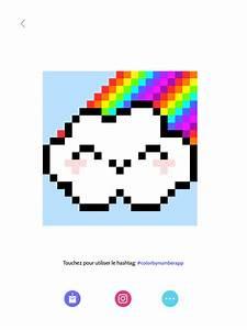 Ides De Pixel Art Arc En Ciel Galerie Dimages