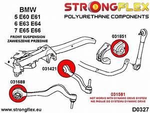 Bmw E60 E61 Front Control Arm To Chassis Bush Polyurethane