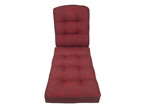 jaclyn smith cora replacement red chaise lounge cushion