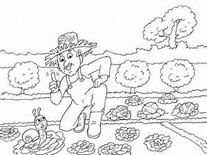 Jardin Dessin Couleur : coloriage jardin hugo l 39 escargot dessin gratuit imprimer ~ Melissatoandfro.com Idées de Décoration