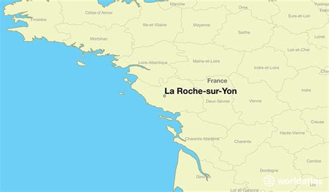 where is la roche sur yon where is la roche sur yon located in the world