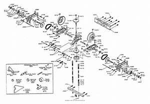 Dixon Ztr 361  1993  Parts Diagram For Transaxle Assembly