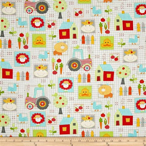farm farrm allover multi discount designer fabric fabric com