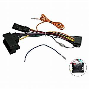 Audi A3 8p A4 B7 Tt Canbus Car Stereo Iso Wiring Harness W 12v Ignition Feed