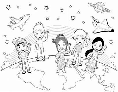 Coloring Children Pages Detailed Cartoon Kidspressmagazine Activities