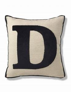 letter d cushion ms With letter m cushion