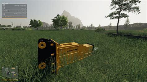 ls hydraulic hammer  cat    farming simulator  mod ls mod