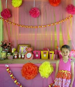 Summer Birthday Party Ideas - Lily's 7th Birthday Party