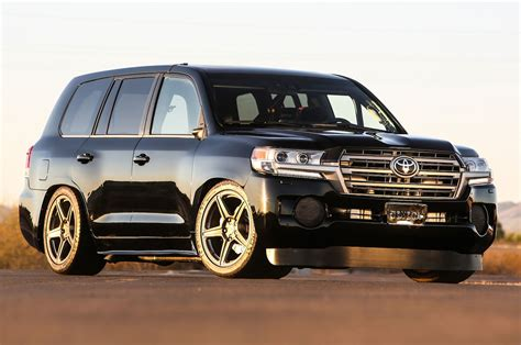 toyota land cruiser toyota debuts land speed cruiser extreme sienna concepts