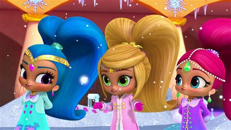 Shimmer And Shine Whatever Floats Your Boat Waterbent by Snow Time To Spare Pet Games Youtube