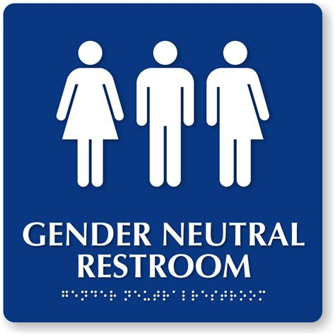 gender neutral single stall restrooms  required  west