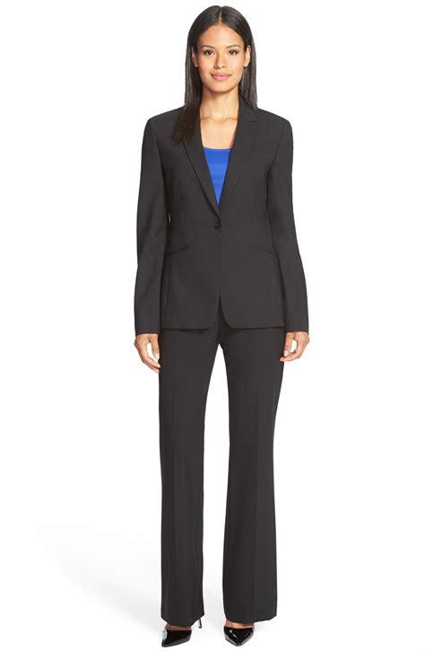 24 Wonderful Womens Black Pants Suit Playzoacom