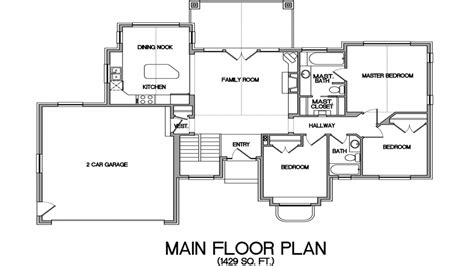 house plans small lake lake house floor plans   view