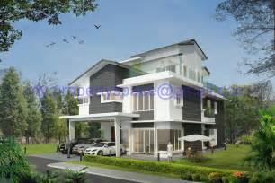 modern bungalow house design malaysia contemporary bungalow house plans  bungalow design