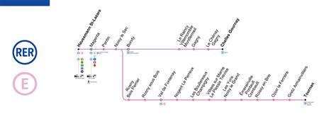 rer map metro map info