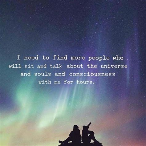 find people   talk   universe
