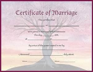 commemorative wedding certificate mini bridal With commemorative certificate template
