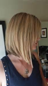 Long Angled Bob Hair