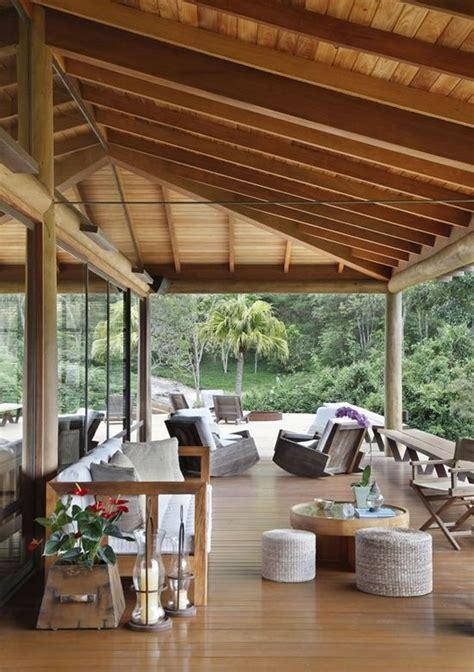 Ideen Für Terrassenüberdachung by Hohes Dach Ideen F 252 R Terrassen 252 Berdachung Holz Haus