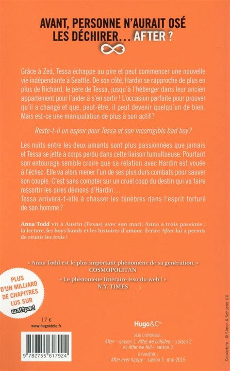 Practice Resume Saison 4 by Livre After Saison 4 After We Rise Todd