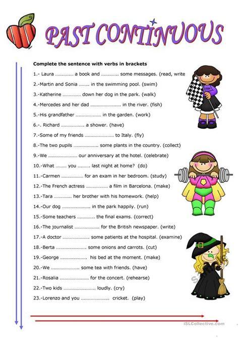 continuous tense  images english grammar