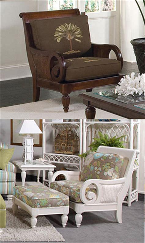 wood  wicker chair  cushions   braxton