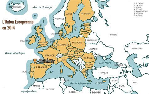 Carte Europe Avec Capitales 2016 by Carte D Europe Images Et Photos Arts Et Voyages