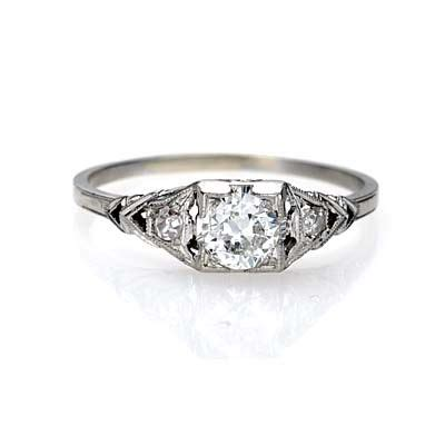 new york ny jewelry engagement rings leigh nacht circa 1930 s engagement ring r421
