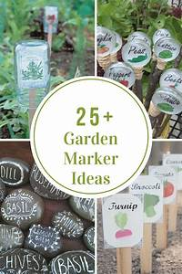 Garden Marker Ideas The Idea Room