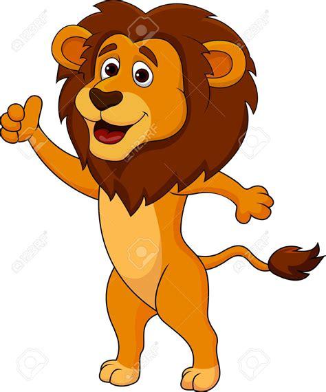illistration clipart cute lion pencil   color