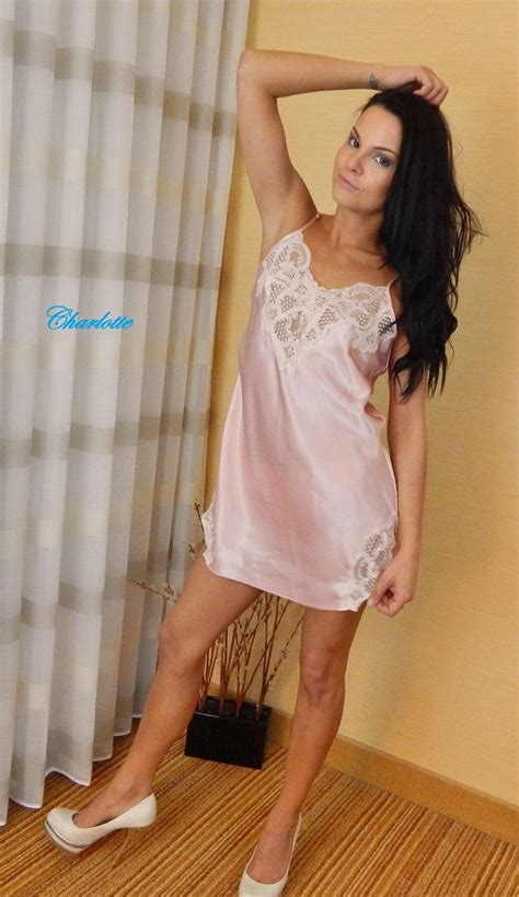 vintage pink satin and lace nightgown by s secret s lace vintage and nightgowns