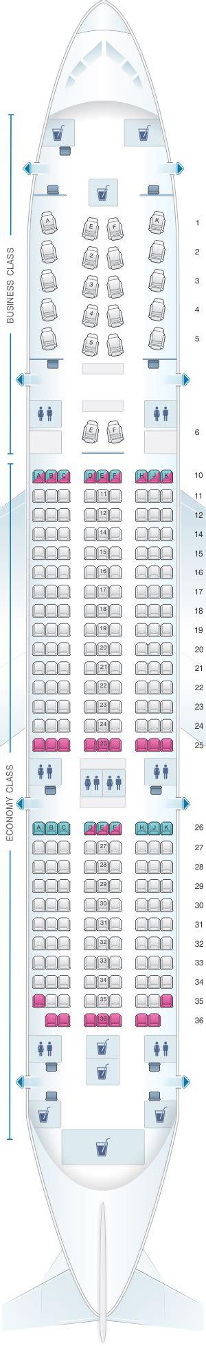 plan siege a380 plan de cabine qatar airways boeing b787 dreamliner 254pax