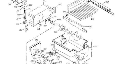 ge ice maker parts diagram wiring site resource