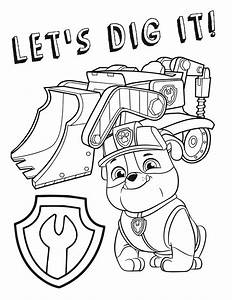 Free Paw Patrol Coloring Pages Party Ideas U0026 Activities