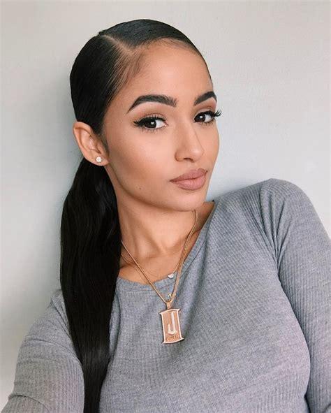 kayla phillips slick  ponytail hair styles natural